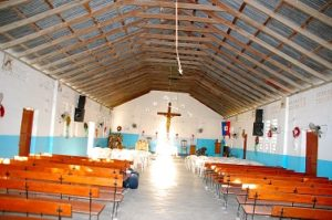 Haiti sister parish church building